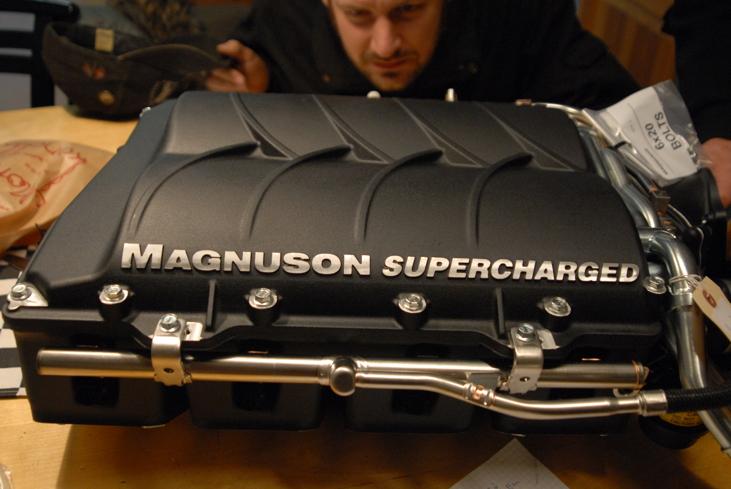 Prata Magnuson Superchargers med oss! Vi har provat själva! Good stuff!