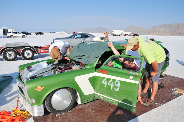 Go fast with Salt Slush Racing!