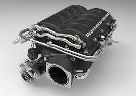 Supercharger Kit för Corvette C6 med LS7 motor (2008-->) Komplett.